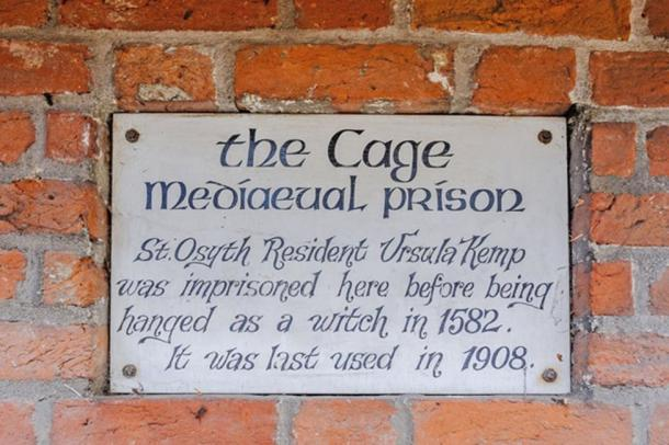 The Cage was last used as a witches prison in 1908. (Rightmove)