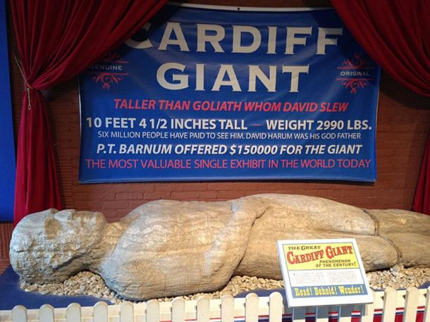 The Cardiff Giant (CC BY-SA 2.0)
