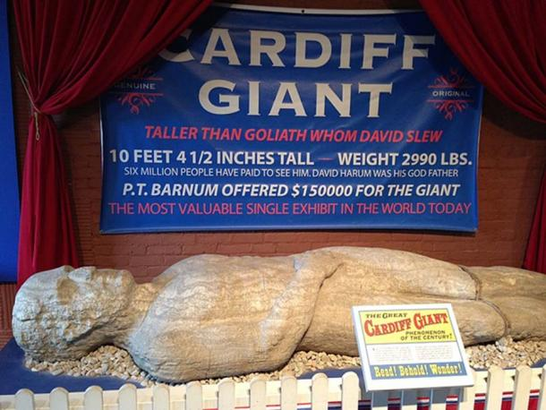 The Cardiff Giant at the Farmers' Museum in Cooperstown. (Opencooper / CC BY-SA 2.0)