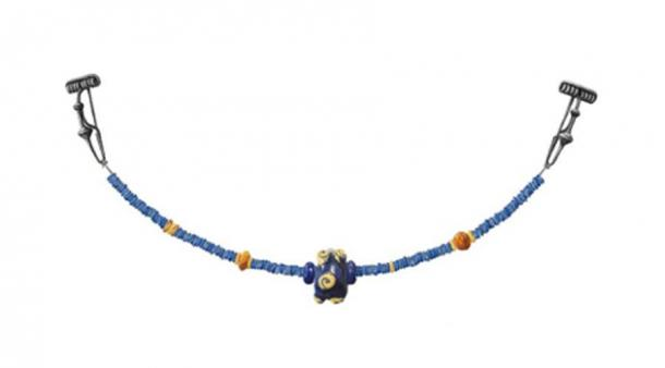 The Celtic the woman's bead necklace. (Zurich archaeology department)