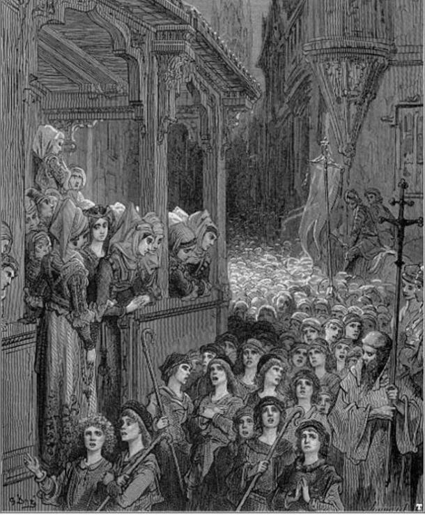 'The Children's Crusade' by Gustave Doré