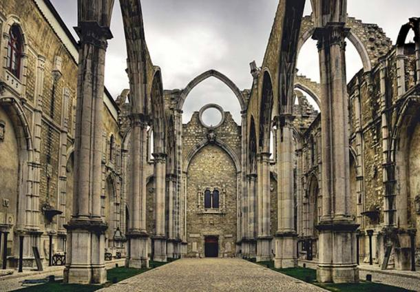 The Convent of Carmo, Lisbon, Portugal
