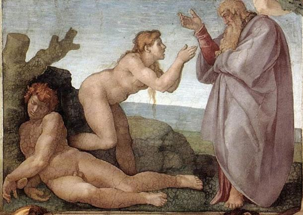 The Creation of Eve from the Sistine Chapel ceiling by Michelangelo. (Sailko / Public Domain)