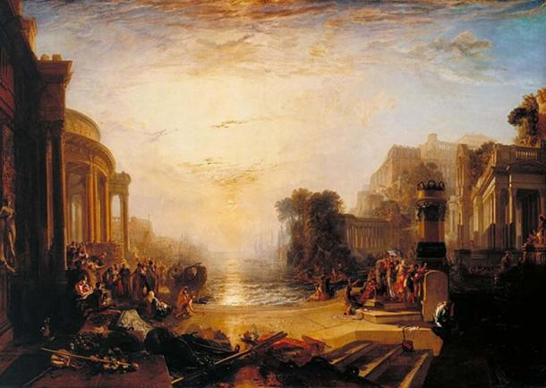 The Decline of the Carthaginian Empire after Queen Dido's death. (Alonso de Mendoza / Public Domain)