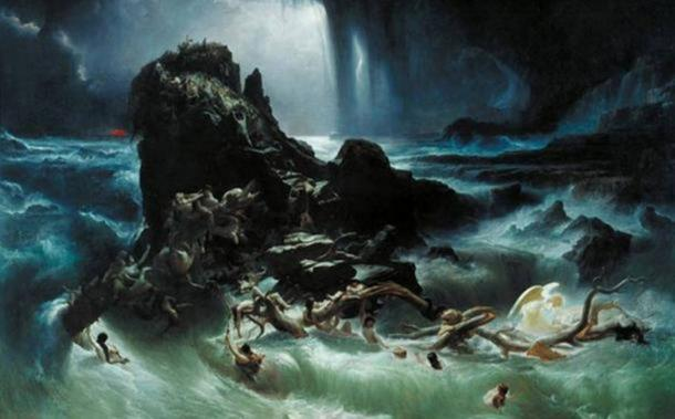'The Deluge' by Francis Danby, 1840. ( Public Domain )