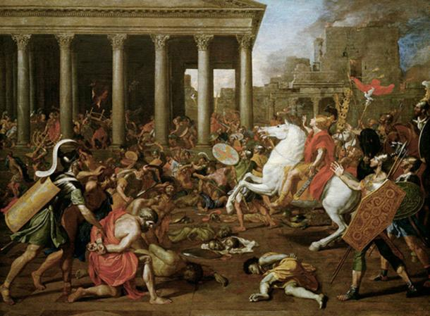 The Destruction of the Temple at Jerusalem by Titus in command of the Roman forces. (BetacommandBot / Public Domain)