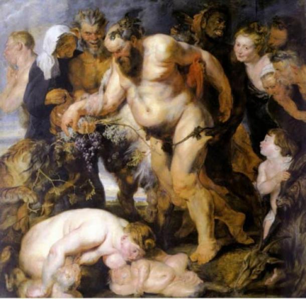 'The Drunken Silenus' by Peter Paul Rubens