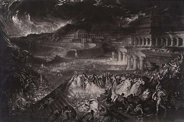 John Martin, 'The Fall of Nineveh.' (CC BY SA 4.0)