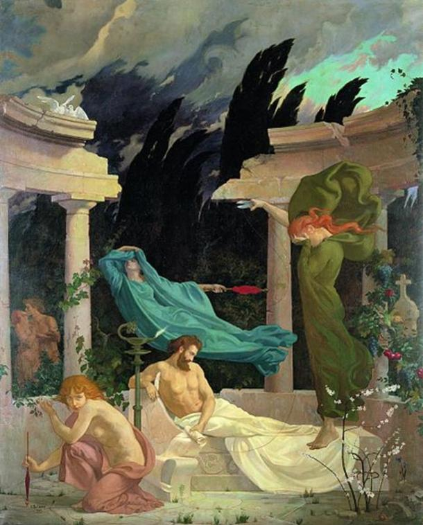 'The Fates' by Claude Dalbanne