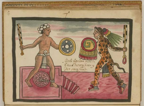 'The Fight Between the Sacrifice and He Who Sacrifices' by Juan de Tovar, circa 1546-1626. (Public Domain)
