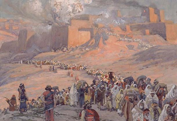 The Flight of the Prisoners by James Tissot (public domain)