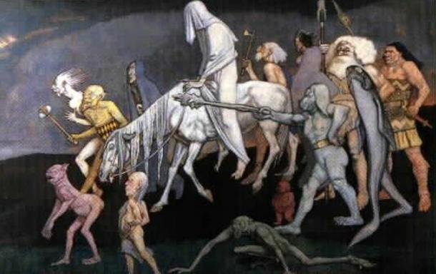 The Fomorians as depicted by John Duncan, 1912