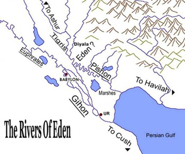 do the four rivers lead us to the garden of eden ancient origins