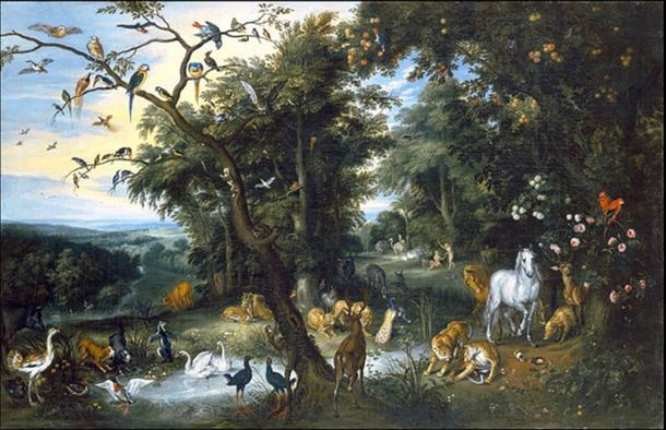 The Garden of Eden. (FRAYK / Public Domain)