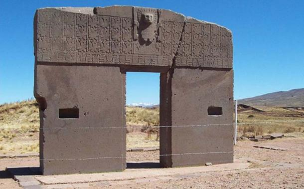 The Gateway of the Sun at Tiahuanaco. (CC BY-SA 3.0)