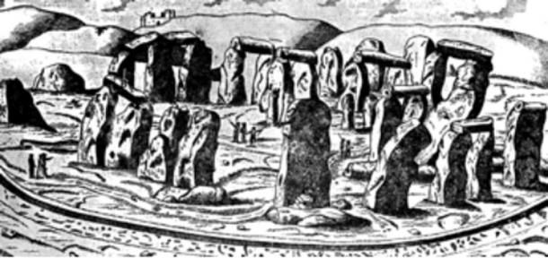 The Giant's Dance - The old name for Stonehenge. Image courtesy of Maria Wheatley