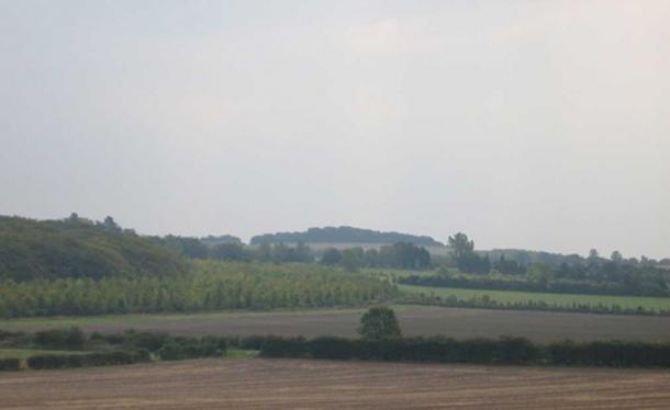 The Gog Magog hills, Cambridge, England. (Public Domain)