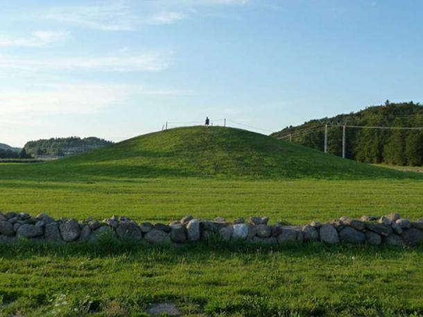 The Gokstad burial mound in Vestfold, Eastern Norway.