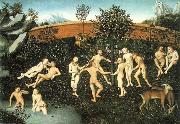 The Golden Age by Lucas Cranach the Elder (Public Domain)