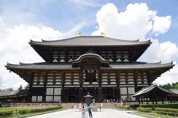 The Golden Hall of Todaiji Temple in Nara, Japan. (Jakubhal / CC BY-SA 4.0)