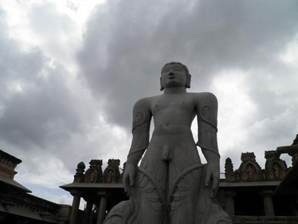The Gommateshwara Statue. (Apoorva Ramesh/CC BY SA 4.0)