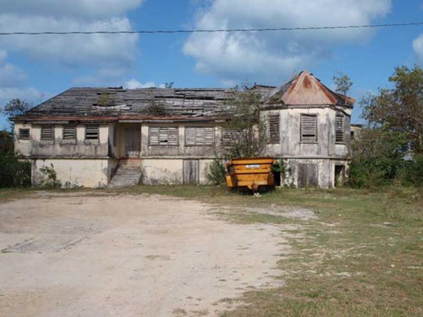 The Government House on Barbuda was built in 1694.