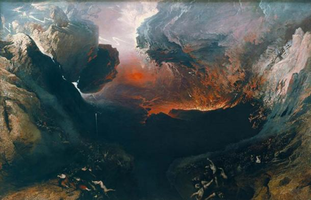 'The Great Day of His Wrath' (1851) by John Martin