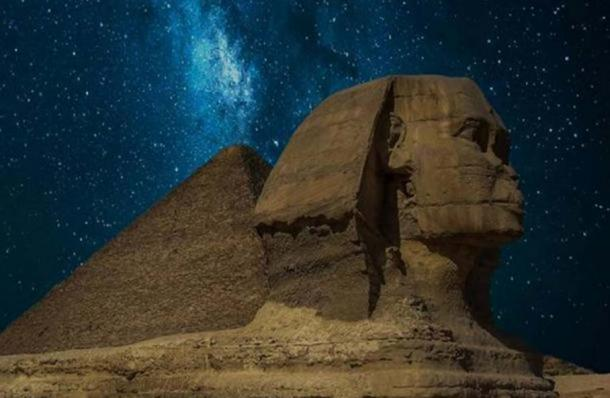 The Great Sphinx of Giza.