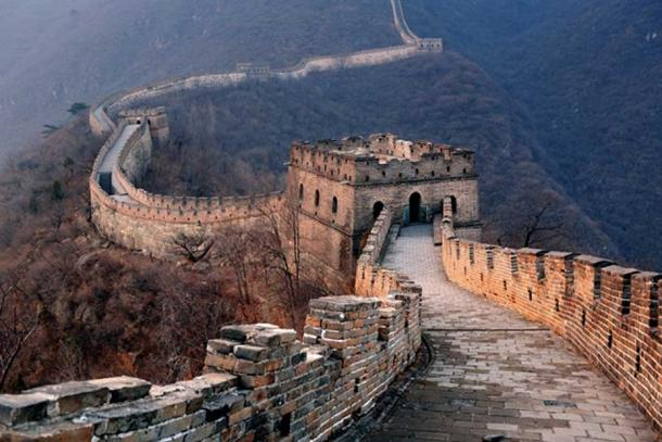 The Great Wall of China is a whopping 13,000 miles long. Credit: BigStockPhoto