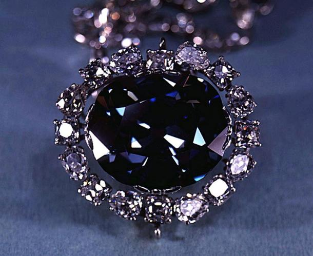 The Hope Diamond in 1974.