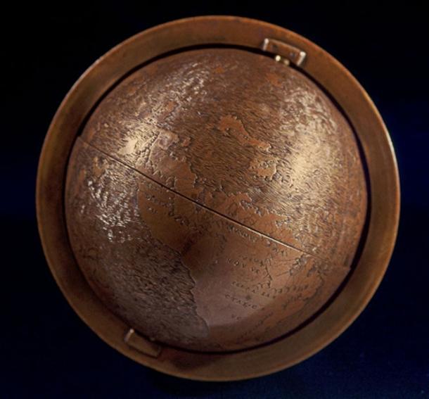 The Hunt-Lenox Globe. Credit: The New York Public Library