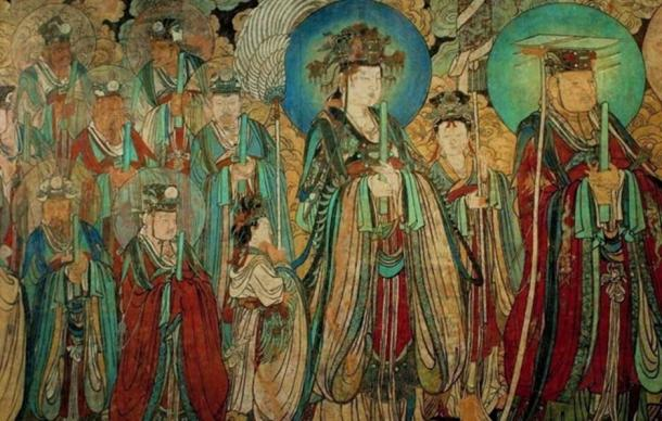 The Immortal Procession, Yongle Gong.
