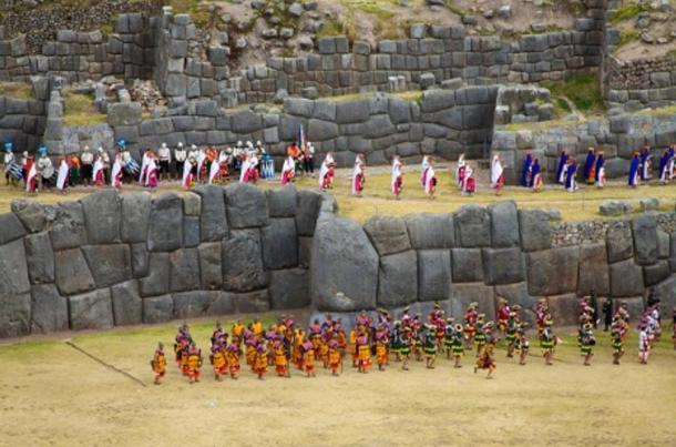 The Inti Raymi Solstice Festival in Cusco, Peru.