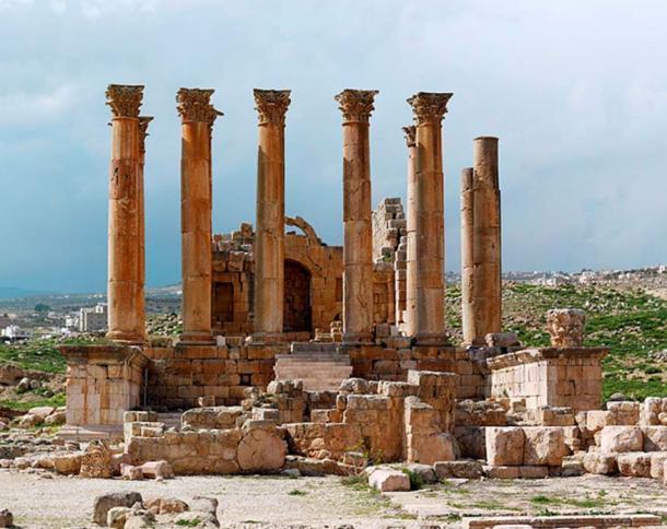The Jerash Temple of Artemis. (CC BY 3.0)