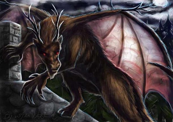 The Jersey Devil. (pyro-helfier/ Deviant Art )