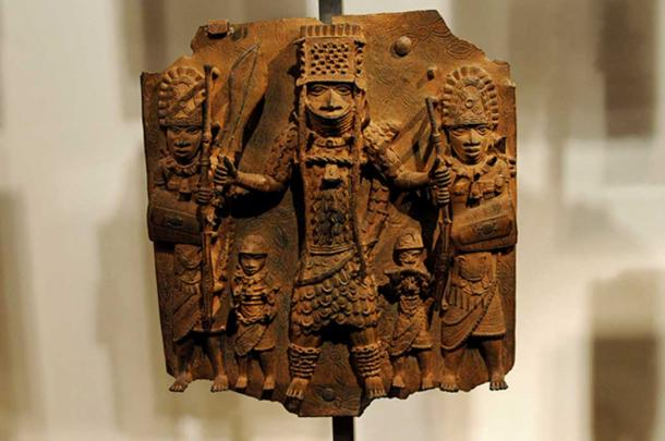 The Kingdom of Benin is famous for its brass castings. This finely detailed example is currently held at the British Museum.