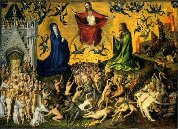 The Last Judgement by Stefan Lochner. (Public Domain)