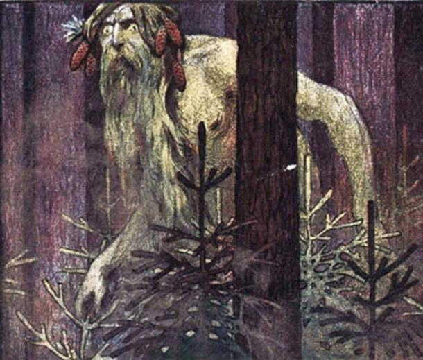 The Leshy, wild man, is a tutelary deity of the forests in Slavic mythology. (Рыцарь поля / Public Domain)