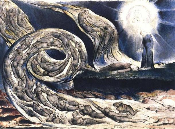 The Lovers' Whirlwind (1824/1827), William Blake