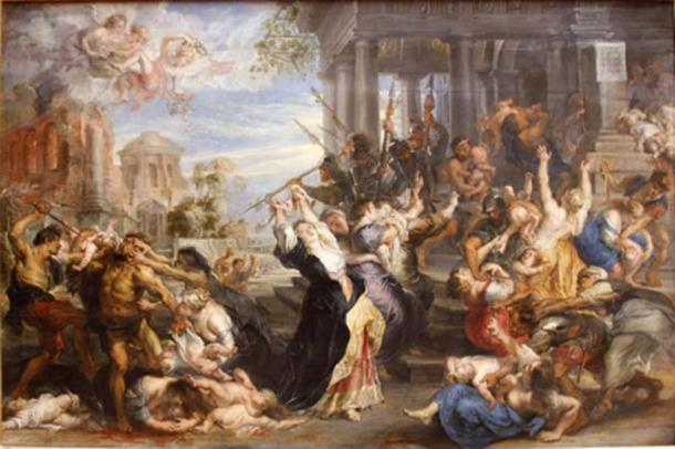 The Massacre of the Innocents, when Herod ordered the killing of all infant boys under 2 years of age, in Bethlehem. (Jbribeiro1 / Public Domain)