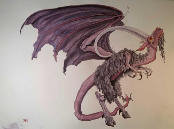 The New Jersey Devil. (ryancanvas/imgur)
