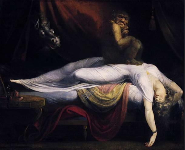 'The Nightmare' (1781) by Henry Fuseli.