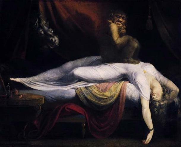 The Nightmare' (1781) by Johann Heinrich Füssli. (Public Domain)