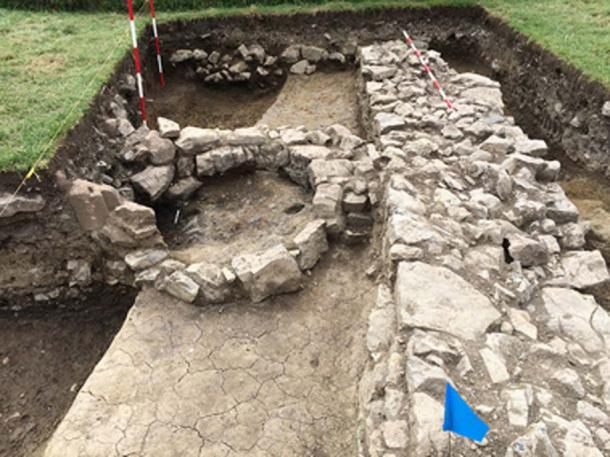 The Norman Monastery excavation cut D after completion. (Beaubec Excavations / Fair Use)