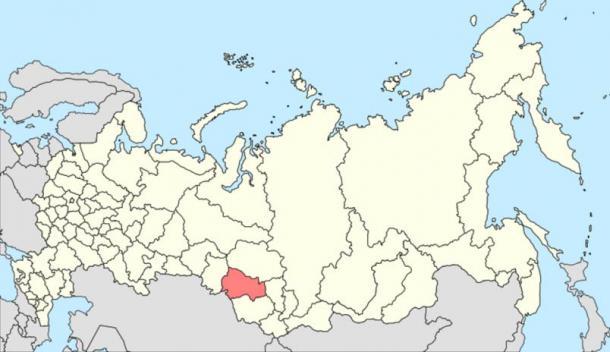 The Novosibirsk Oblast in Russia