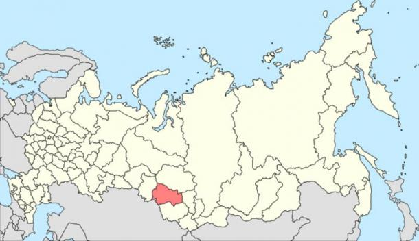 The Novosibirsk Oblast in Russia