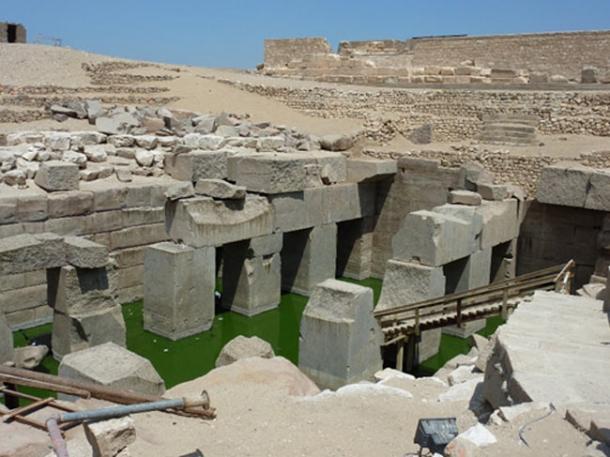 The Osireion - El templo impresionante de Seti I en Abydos, Egipto