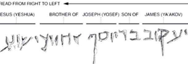 The Ossuary of James and inscription was found to be authentic. (syyenergy7 / YouTube Screenshot)