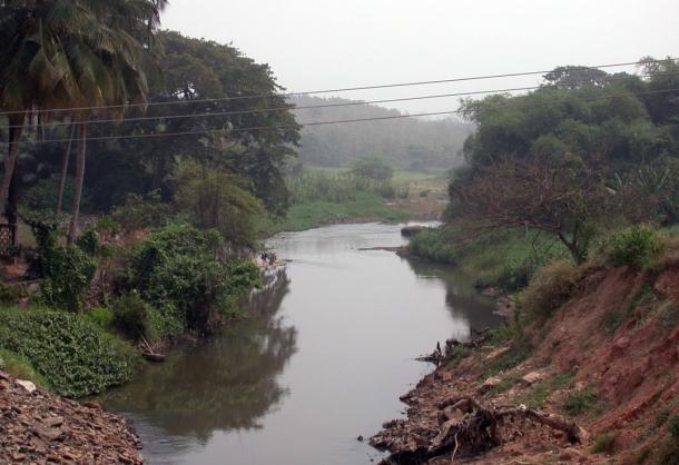 The Osun River, Nigeria