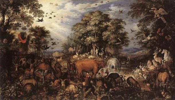 'The Paradise' (1626) by Roelant Savery.